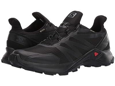 Salomon Supercross GTX(r) (Black/Black/Black) Men