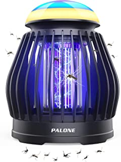 Anuncio patrocinado: PALONE Lámpara Antimosquitos Eléctrico, LED Mosquito Lámpara Trampa 5W, USB Recargable 3 en 1 ata Mos...