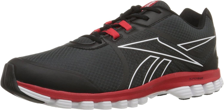 Reebok herrar Super Duo Speed springaning springaning springaning skor svart  Flat grå  vit  kunder först