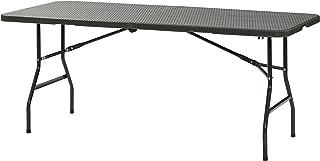 Sandusky Lee FPT7230-BR Plastic Fold in Half Table, 29