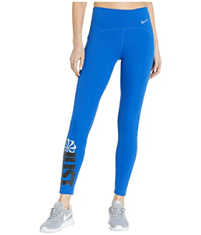 Nike Icon Clash Speed Tights 7/8 (Game Royal/Black/Reflective Silver) Women