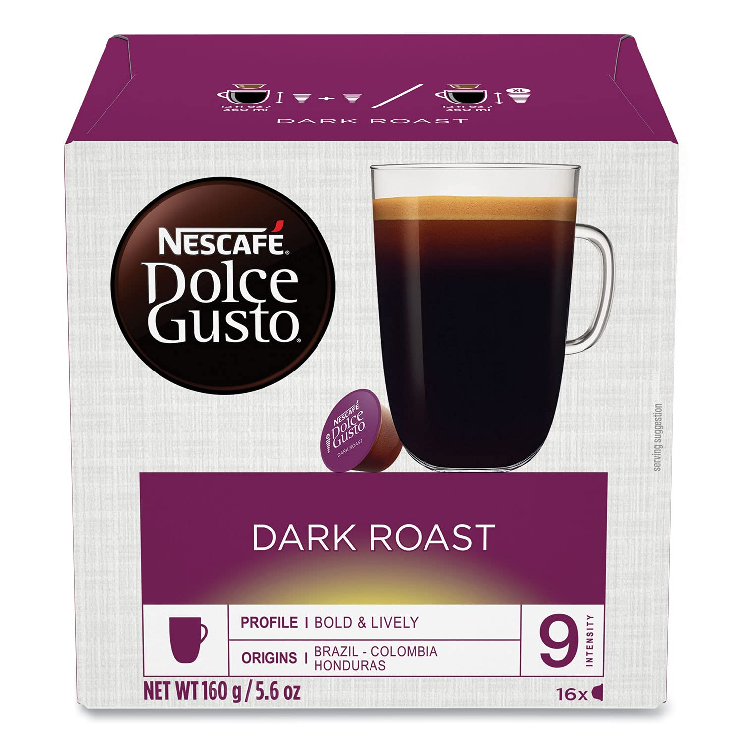 Nescafe Many popular brands Dolce Gusto Dark Roast Coffee Capsules Capsule low-pricing