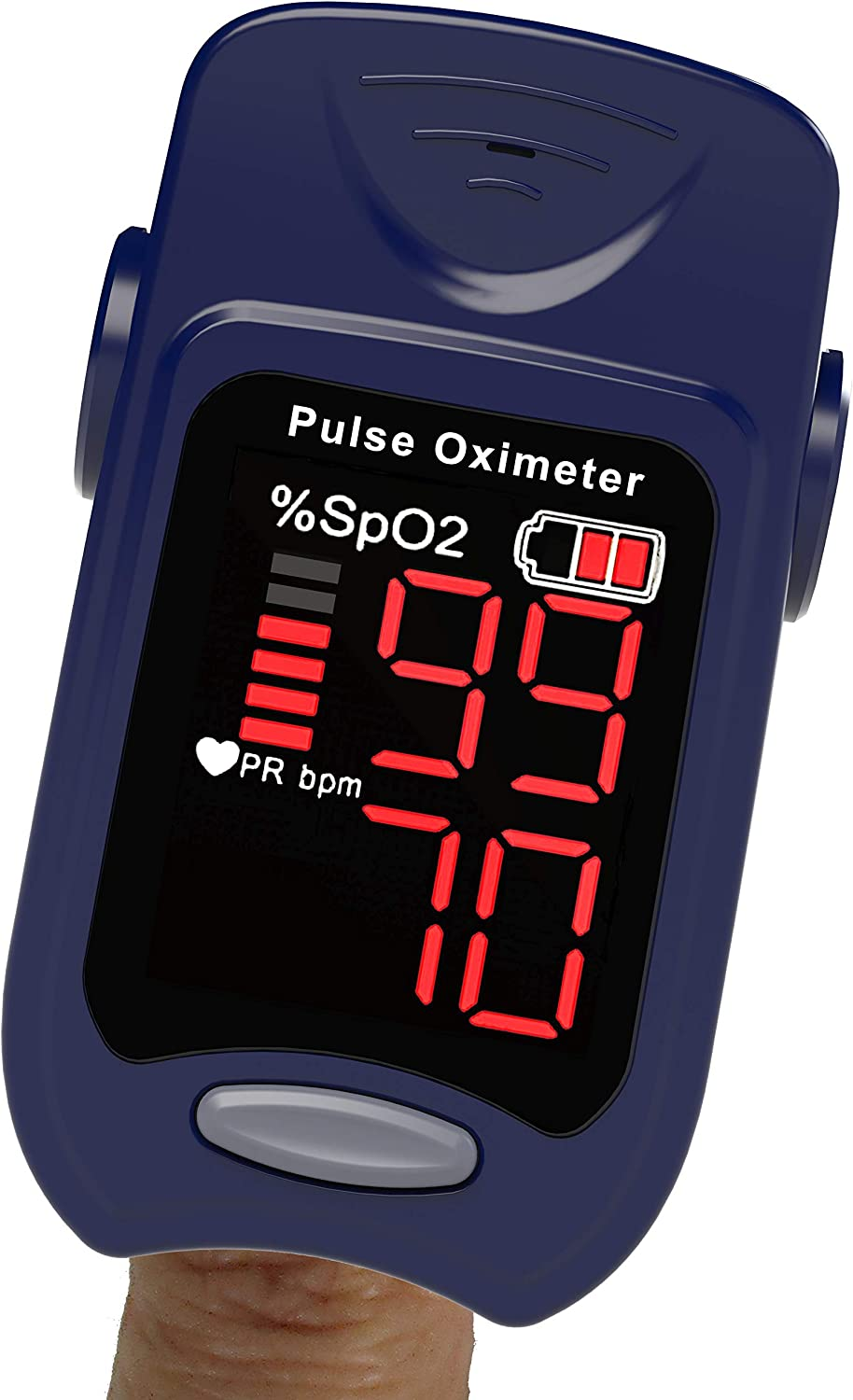 FRONT ARCH Pulse Oximeter Fingertip Saturation Free shipping Blood Mo - Beauty products Oxygen