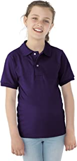 Youth 50/50 Jersey Polo 437Y