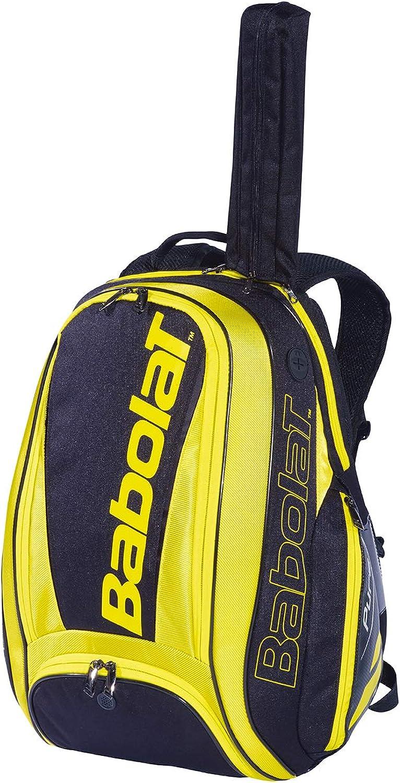 Babolat Pure Aero Black Yellow Tennis Backpack