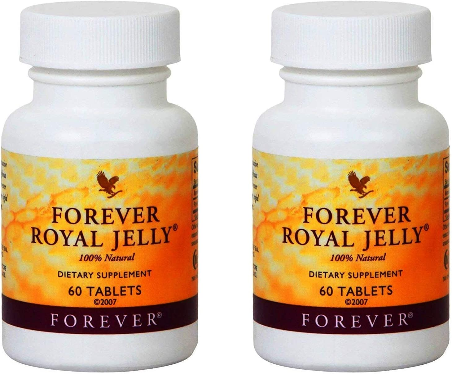 Forever Royal Jelly ☆送料無料☆ 当日発送可能 お気にいる 100% Natural 120 Tablets 2 Pack of