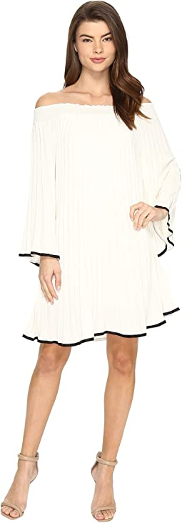 Nicole Miller - Rocco Pleated Dress
