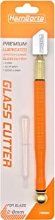 Sponsored Ad – HemBorta® Professional Glass Cutter Tool, Oil Lubricated Tungsten Carbide Cutting Wheel Cuts 2-8mm Glass, M...