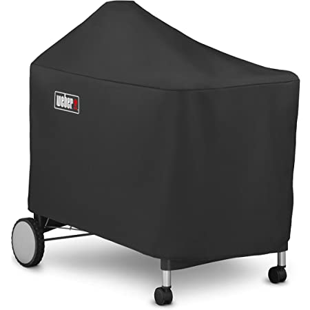 Amazon Com Weber 7152 Grill Cover For Performer Premium And Deluxe 22 Inch Black Garden Outdoor