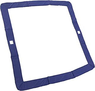 Trampoline Pro Trampoline Pads   Round 12ft & 14ft & 15ft   Square 13ft x 13ft & 14ft x 14ft   Blue and Green