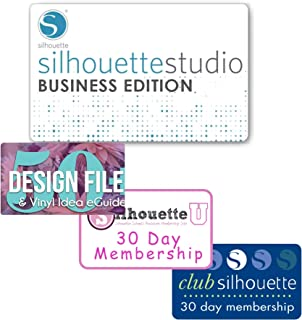 Silhouette Studio Basic to Silhouette Business Edition Upgrade, Design Pack, Silhouette Club