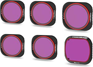 Freewell Limited Edition – 4K Series – 6Pack ND4/PL, ND8/PL, ND16/PL, ND32/PL, ND64/PL,ND1000 Camera Lens Filters Compatible with DJI Mavic 2 Pro Drone