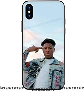 Rings Phone 33032421000 Phone Frame Charm Inspired by Nba Youngboy Phone Case Compatible With Iphone 7 XR 6s Plus 6 X 8 9 Cases XS Max Clear Iphones Cases TPU