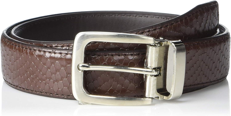 a.x.n.y Boys' Adjustable Faux Snake Skin Belt