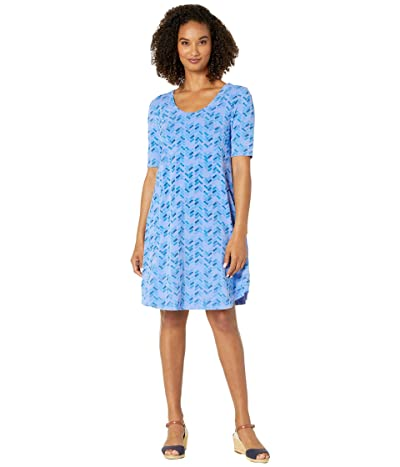 Fresh Produce Maritime Mosaic Mika Dress (Peri Blue) Women