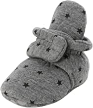 Tronet Winter Boots for Newborns Kids Shoes Solid Color Slippers Warm Unisex Winter Non-Slip Child Adjustable Bootie Shoes