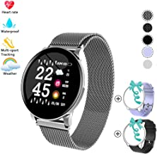 YZJ Fitness Tracker with Blood Pressure Monitor,Activity Tracker Watch with Heart Rate Monitor,1.3 inch IPS Color Screen Pedometer,IP67 Waterproof Weather Display Sleep Monitor