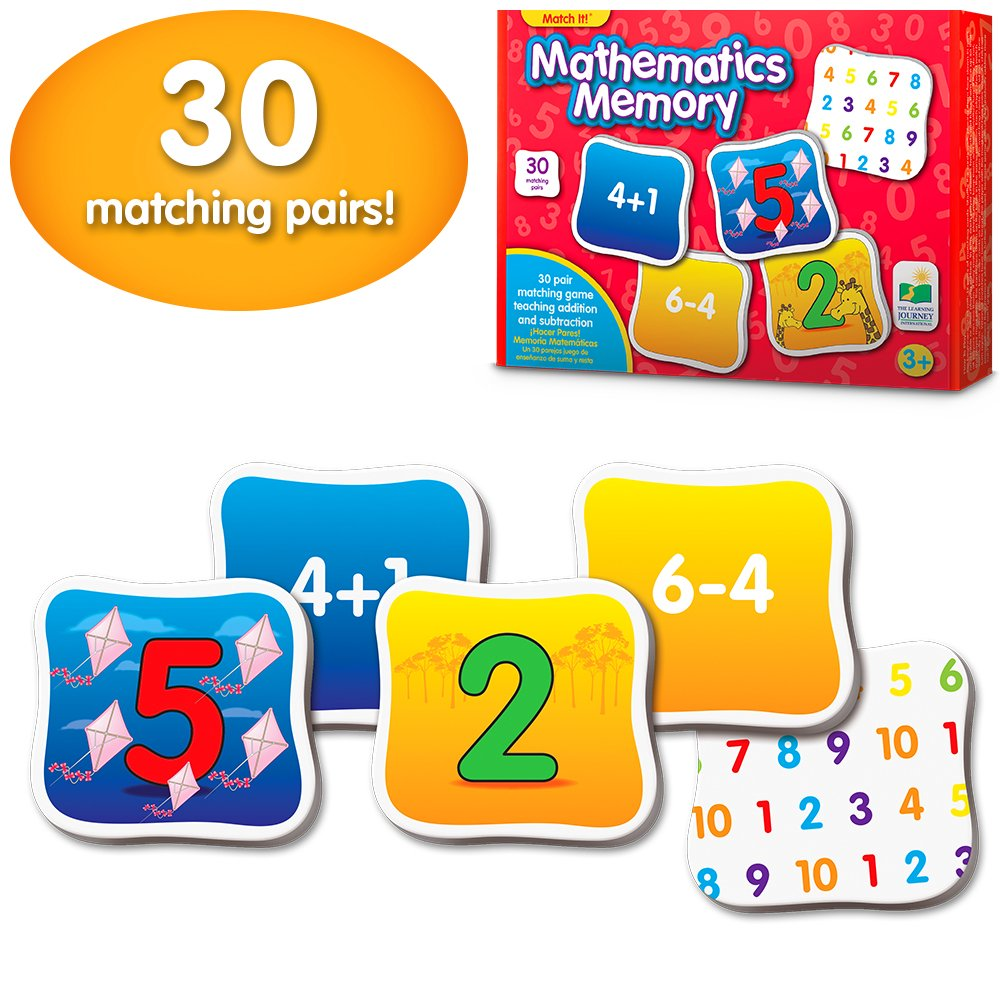 Learning Journey Match Memory Mathematics
