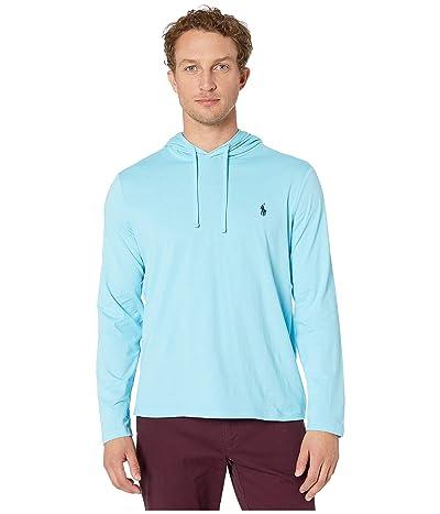 Polo Ralph Lauren Hooded Jersey Tee (Neptune) Men