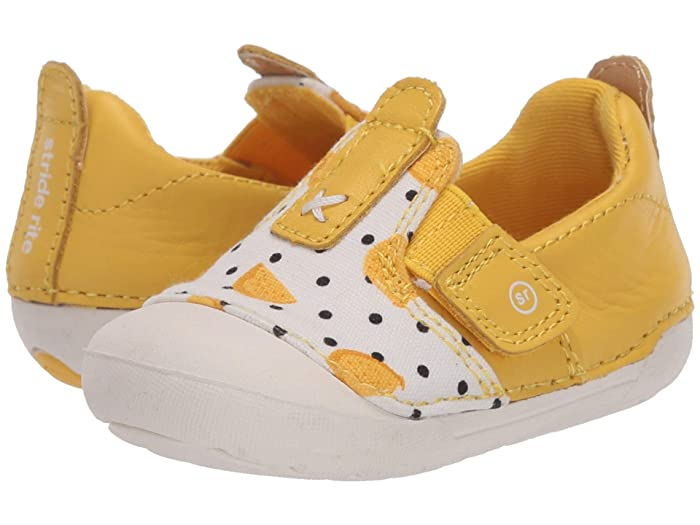 Stride Rite  SM Atlas (Infant/Toddler) (Lemon Yellow) Girls Shoes