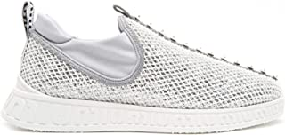 MIU MIU Luxury Fashion Womens 5S901BF0103KRAF0A0N Silver Slip On Sneakers | Season Permanent