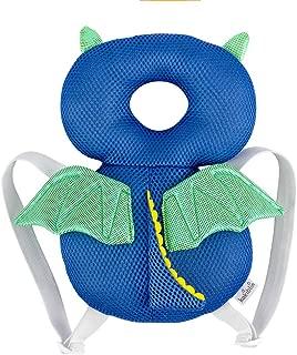 LEMONEE 赤ちゃんてんとう防止リュック 乳幼児用ごっつん 赤ちゃんのごっつん防止 リュック セーフティー安全頭保護メッシュ 適用年齢6ヶ月~18ヶ月 (小悪魔)