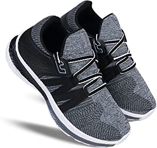 Zenwear Boys' Grey Lace-Up Sports Shoes
