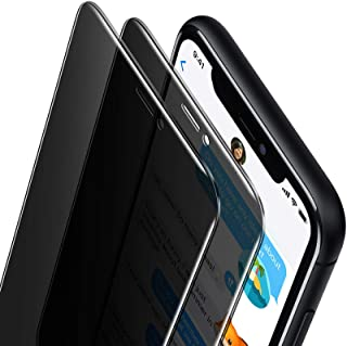 Oribox Privacy Screen Protector for iPhone 11 Pro Max,Xs Max (6.5 Inch) Anty- Spy Tempered Glass Screen Protector,2-Pack