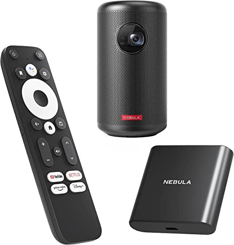 lowest Nebula outlet online sale Capsule II Smart new arrival Mini Projector with NEBULA 4K Streaming Dongle outlet online sale