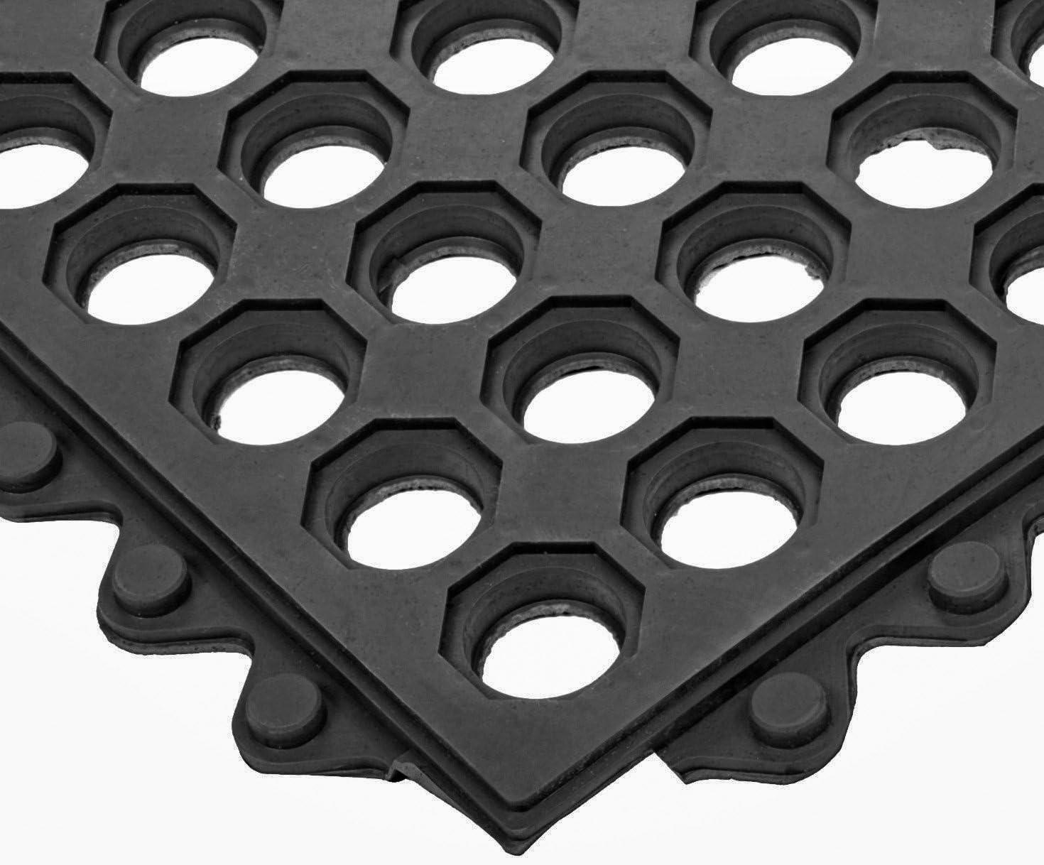 Electriduct supreme Interlocking Rubber Ring Safety Price reduction Anti-Sl 3x3 Mat FT -
