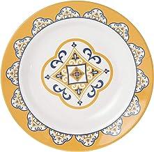 ServeWell 23 cm Entice Rim Soup Plate,White,Melamine