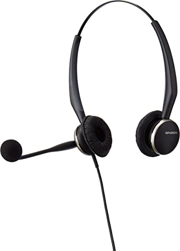 popular Jabra high quality sale GN2125 Duo Corded Quick Disconnect Headset for Deskphone, Softphone or Mobile Phone online