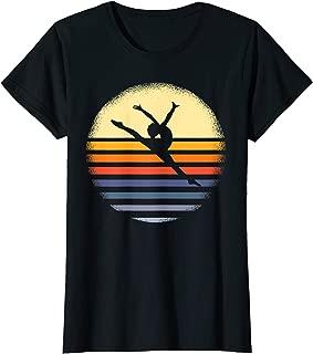 Gymnastics Shirt Vintage Gymnast Gift Retro Gymnastics Gift T-Shirt