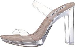 Glassy Heeled Sandal