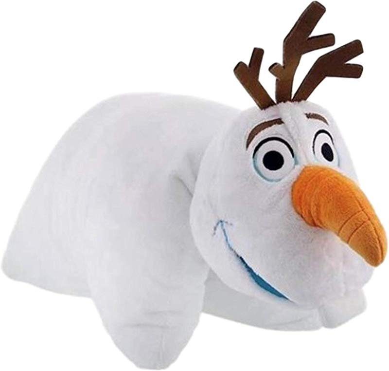 Disney Parks Frozen Olaf Snowman Pillow Pal Plush Pet Doll NEW