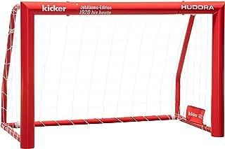 HUDORA fotbollsmål Expert 120–300 – trädgård fotbollsmåltid av stål för barn, ungdomar och vuxna utan målvägg i standard &...