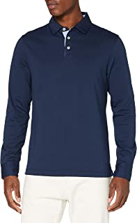 Hackett London Men's Multi Trim JSY Ls Polo Sweater