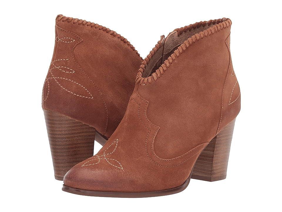 Ariat Unbridled Eva (Distressed Tan) Cowboy Boots