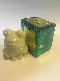 Vintage Avon Enchanted Frog Moonwind Cream Sachet