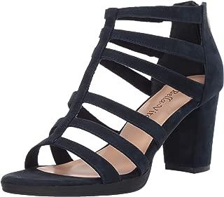 Women's Leah Sandal with Back Zipper Heeled