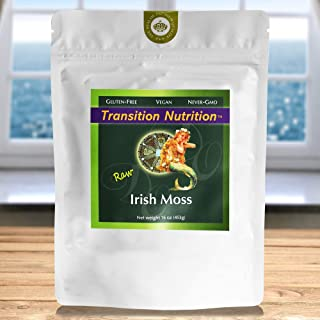 Fresh Whole Leaf Irish Moss - Raw - 16 oz