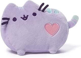 GUND Pusheen Heart Pastel Cat Plush Stuffed Animal, Purple, 6