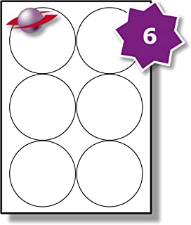 5 Fogli 35 Par Foglio LP35//37 R HT. 175 Etichette Label Planet/® Etichette di Carta A4 Opaca Bianca Rotonda con Adesivo Solido per Stampanti a Getto dInchiostro e Laser 37mm Diametro