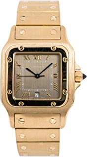 Cartier Santos Galbee Quartz Male Watch 887901 (Certified Pre-Owned)