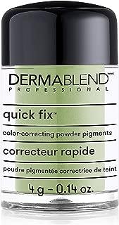 Dermablend Quick-Fix Color Correcting Powder Pigments, Color Corrector Makeup Concealer for Imperfections, 0.14oz
