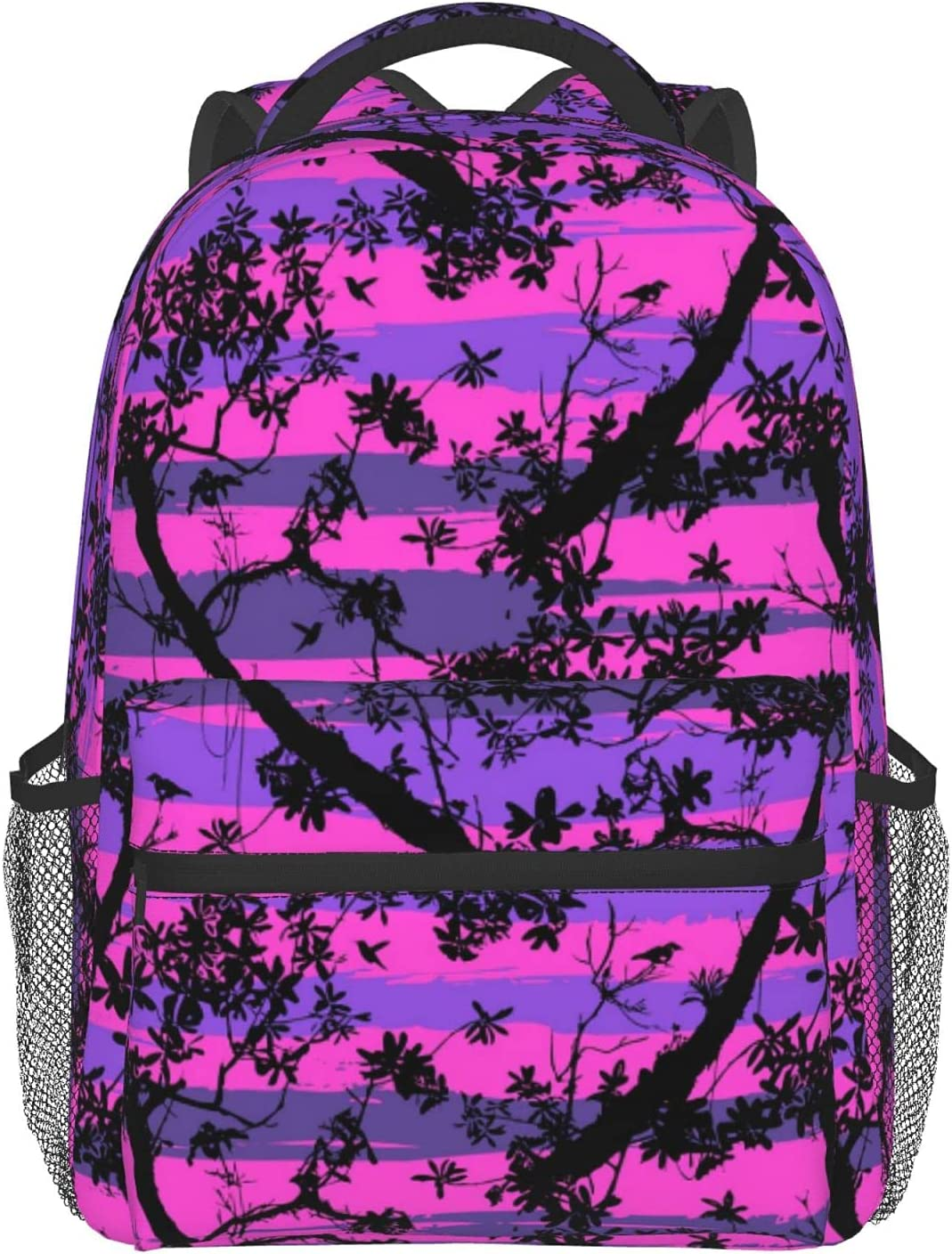 Floral And Tree Leaves Pattern School Lightweight Mini Backpacks Weekly Max 69% OFF update