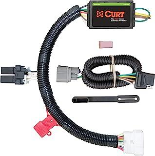 CURT 56170 Vehicle-Side Custom 4-Pin Trailer Wiring Harness, Fits Select Honda Pilot