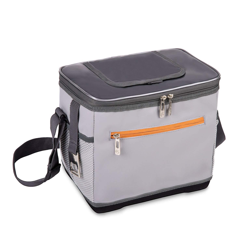 ALLCAMP クーラーバッグ ソフトクーラー 22L 保冷バッグ クーラーボックス 大容量 冷蔵ボックス ペットボトル アウトドア 肩掛け お花見