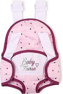 Smoby portabebés Baby Nurse Mochila para Portar Muñecos