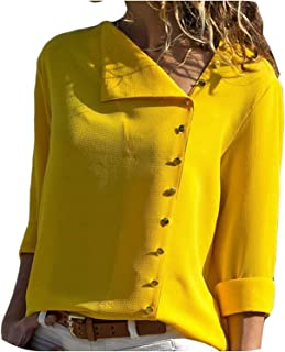 Surprise S Fashion Long Sleeve Women Blouses and Tops Collar Office Shirt Casual Tops Blusas